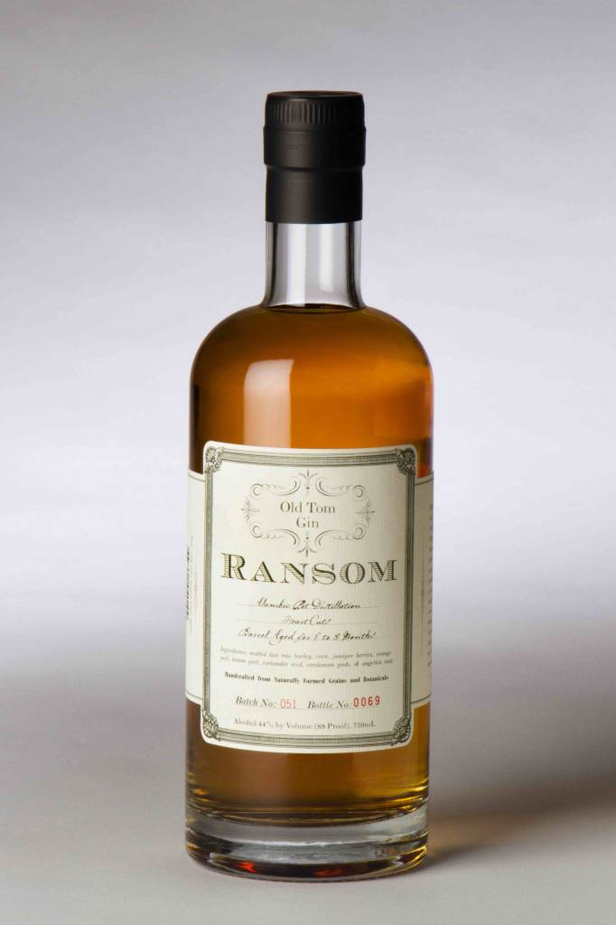 Ransom Old Tom Gin 750ml