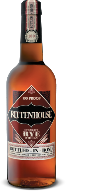 Rittenhouse Straight Rye Whiskey 100 Proof 750mL