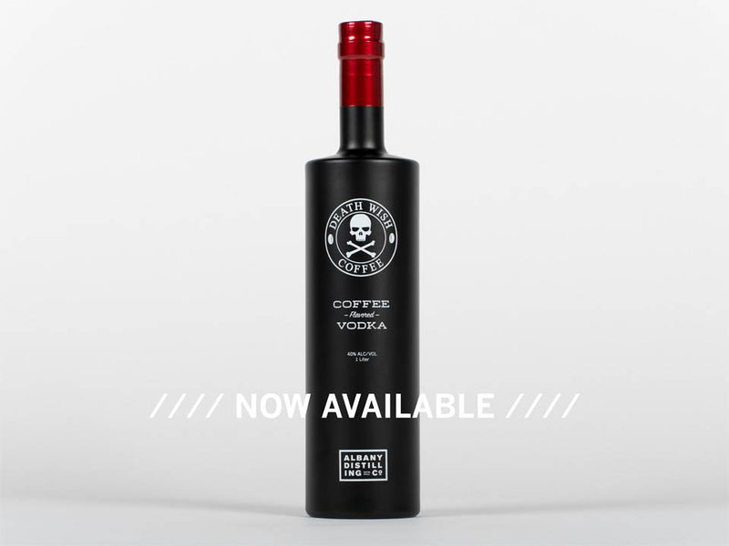 Albany Distilling Co. Death Wish Coffee Vodka 1L