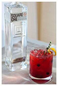 Square One Organic Rye Vodka 750ml