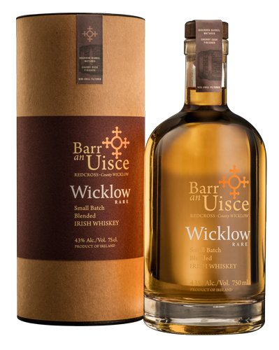 Barr an Uisce Wicklow Rare Irish Whiskey 750ml