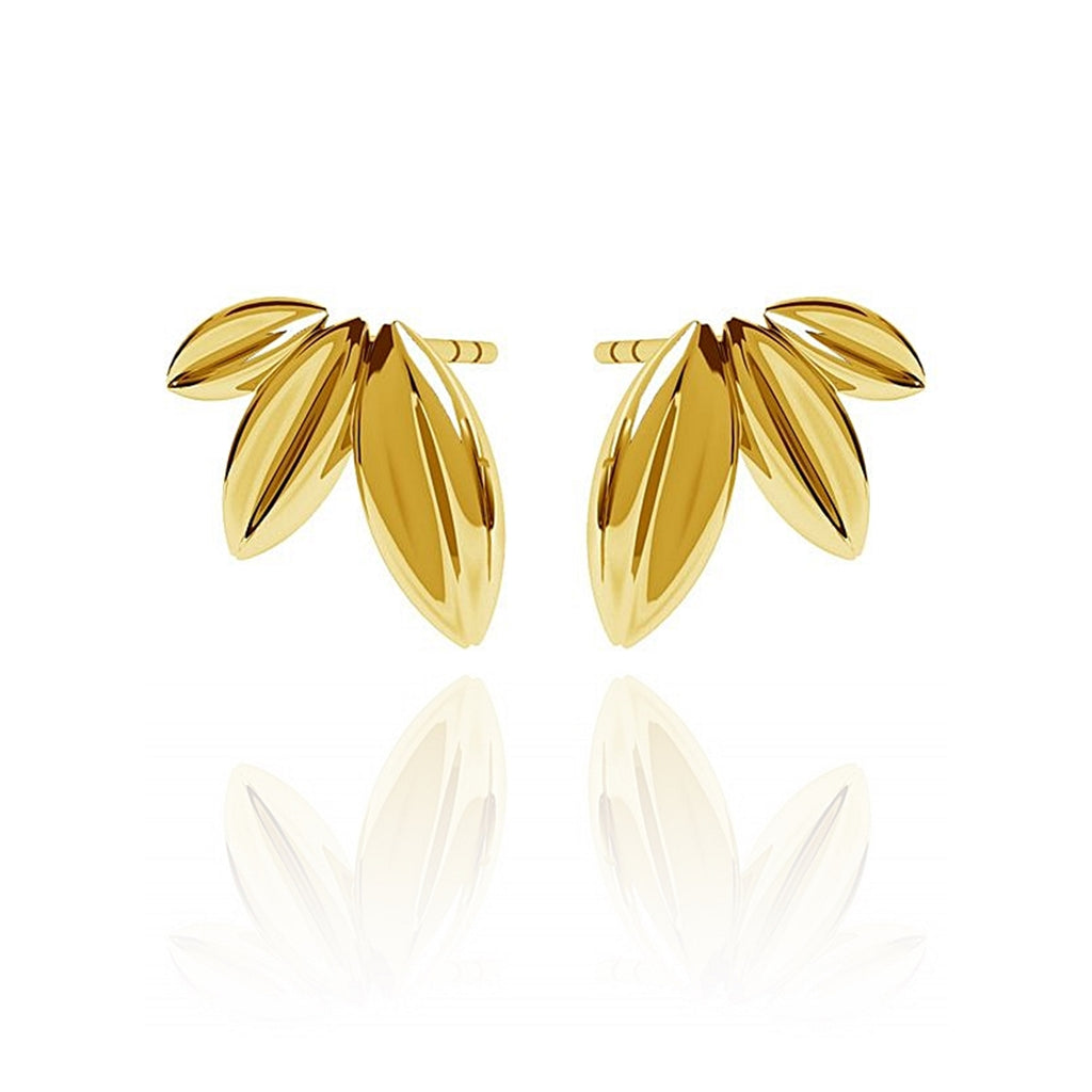 PENDIENTES LEAVES Gold