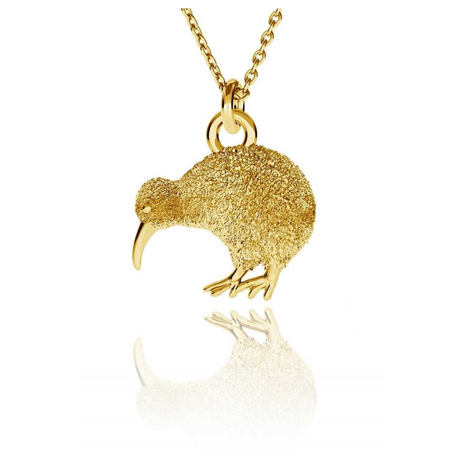 COLLAR KIWI BIRD - Gold