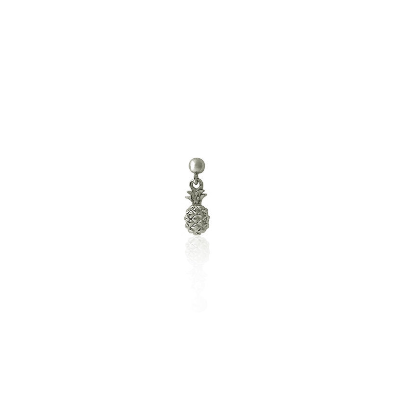 PENDIENTE MINI PINEAPPLE - Silver