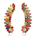 PENDIENTES RAINBOW WINGS