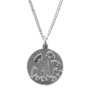 COLLAR POPPIES - Silver