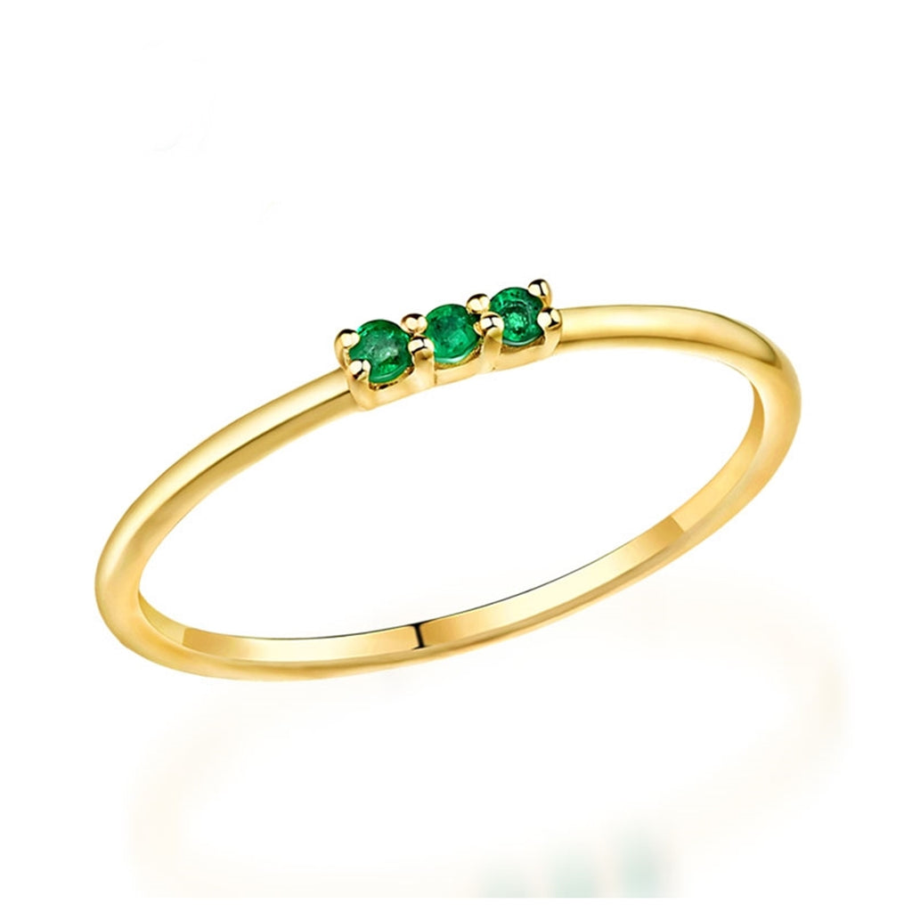ANILLO TROPICAL GREEN