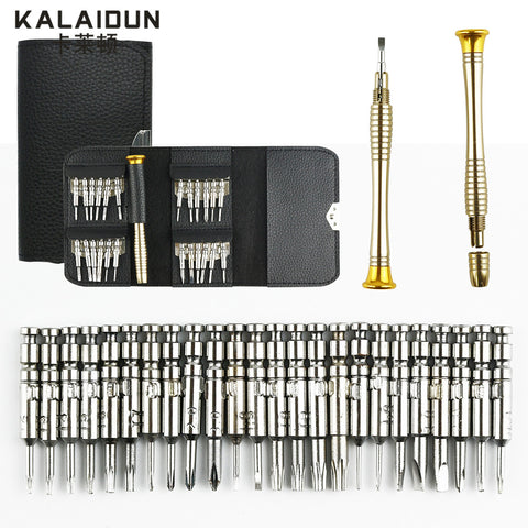 Precision Screwdriver Set 25 In 1 Torx watch Screwdriver Repair Tool Set for Phone 4s/5s iPad Pc Hand Tools Kit hardware Tool