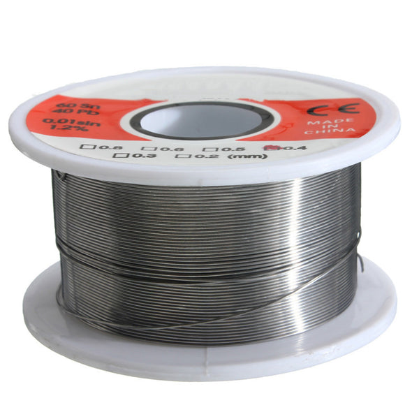 0.4mm Tin Lead Rosin Core Flux Solder Soldering Welding Iron Wire Reels 50g FLUX 1.2%