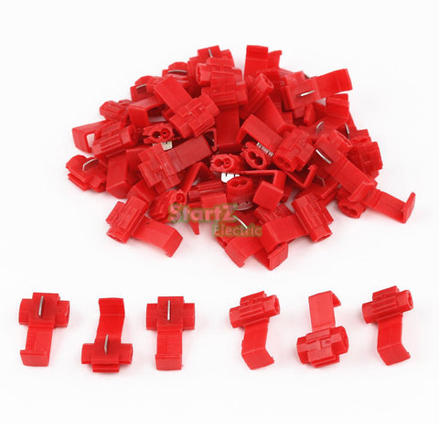 50PCS Scotch Lock Wire Electrical Cable Connectors Quick Splice Terminals Crimp