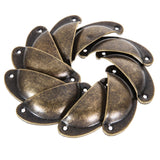 10 PCS Vintage Cabinet Knobs and Handles Cupboard Door Cabinet Drawer Furniture Antique Shell Handle