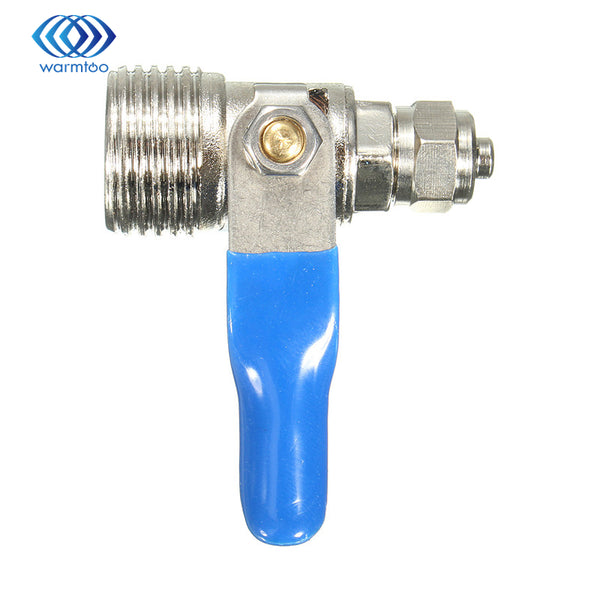1/2''-1/4'' RO Feed Filter Water Adapter Ball Valve Tap Reverse Osmosis Switch Copper Durable Quality