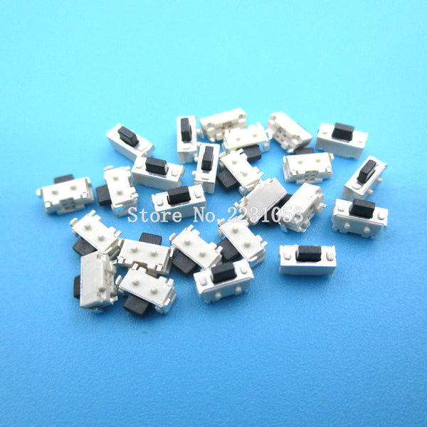 100PCS/LOT 2 x4x3.5mm 2*4*3.5mm Touch Switch SMD MP3 MP4 MP5 Tablet PC Power Switch Tactile Tact Push Button Micro Switch