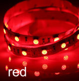 0.5/1/2/3/4/5M LED Strip Light 5050 SMD RGB Led Tape Not waterproof Led Stripe Bar Light String Holiday Decoration Lights DC12V