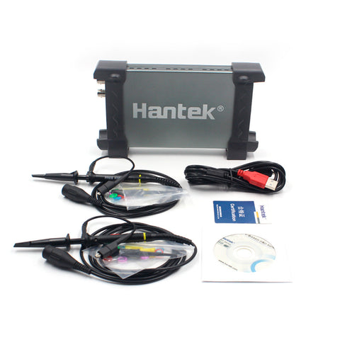 Hantek 6022BE Digital Oscilloscope Portable PC USB Oscilloscoop 2 Channels 20Mhz Handheld Osciloscopio Portatil Tools