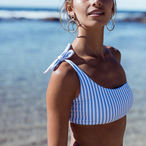 Harper One-Shoulder Bikini Top