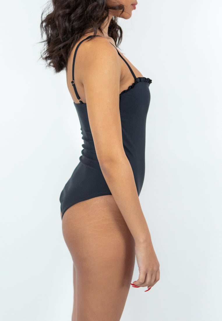 Olympia One-piece Swimsuit - black