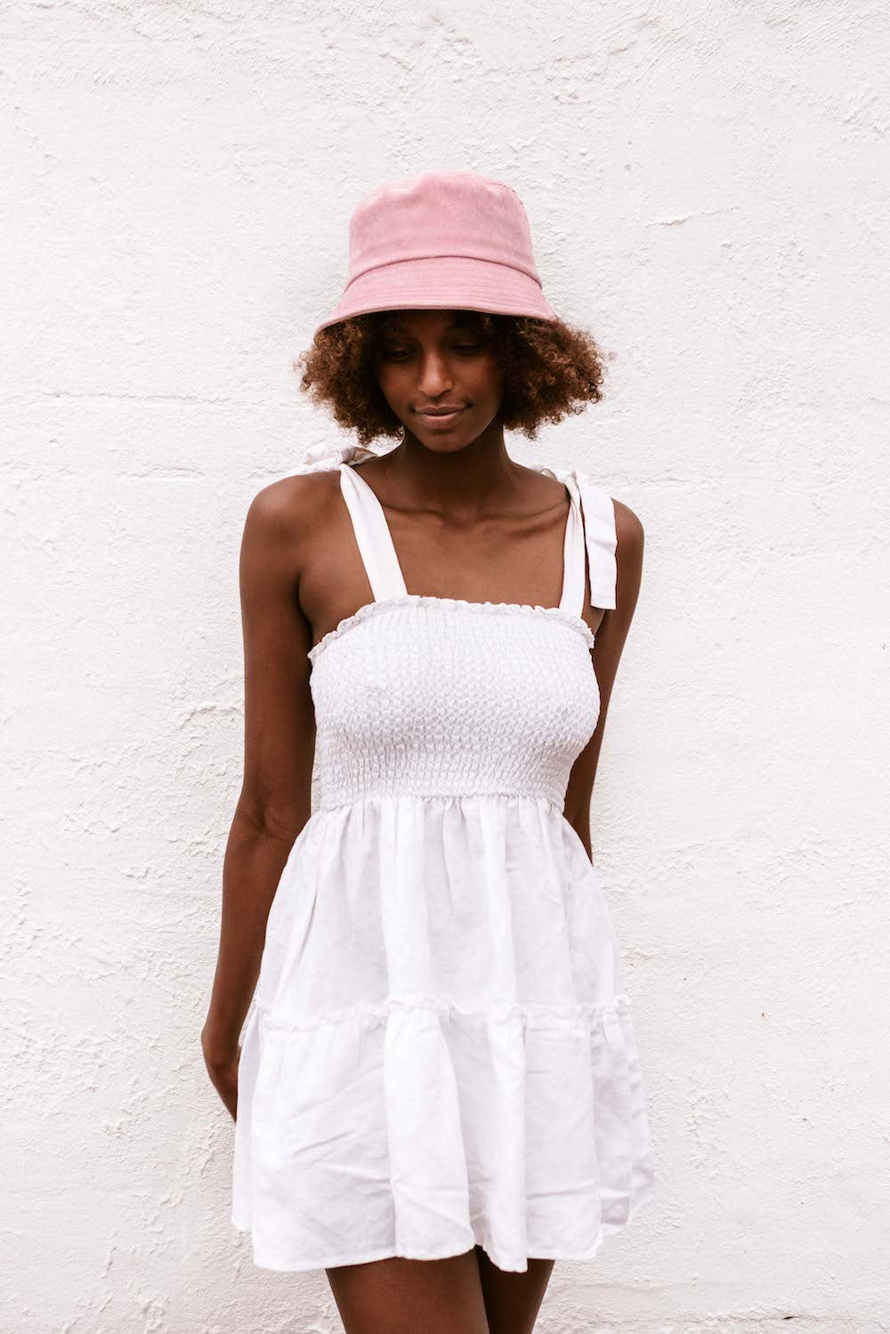Elle Bucket Hat - Pink