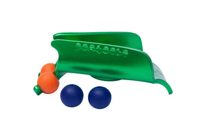 Green clipstick head with orange and blue silicone bead colour options from the Pongoose Climber 700 3in1 clipstick product.