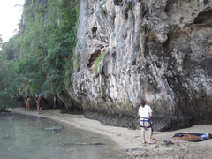 Pongoose image of climber in Thailand