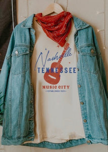 nashville graphic tee