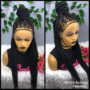 Bella Braided Wigs -  BBW 177 - MTO