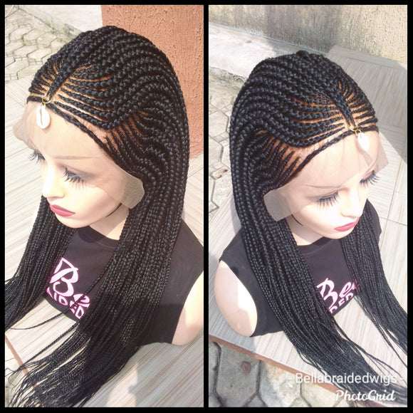Bella Braided Wigs - Nnenna - Bella Braided Wigs
