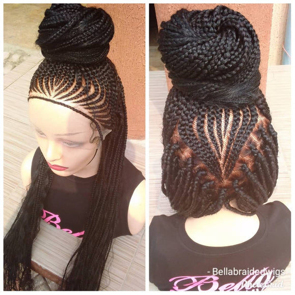 Bella Braided Wigs - Tope - Bella Braided Wigs