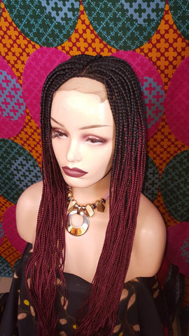 Bella Braided Wigs - Nneka 6