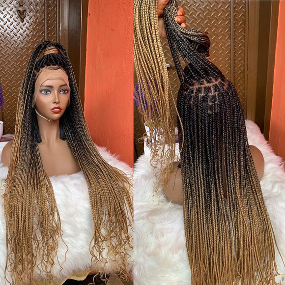 Bella Braided Wigs - Bimbo Knotless braids - Bella Braided Wigs