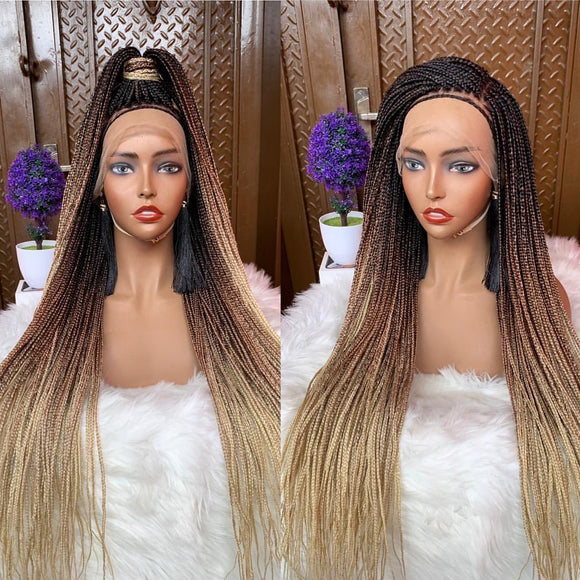 Bella Braided Wigs - Bimpe Knotless Braids - Bella Braided Wigs