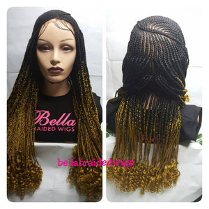 Bella Braided Wigs -  BBW 184 - MTO - Bella Braided Wigs