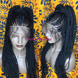 Bella Braided Wigs -  BBW 177 - MTO - Bella Braided Wigs