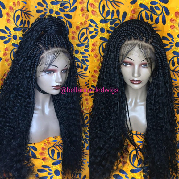Bella Braided Wigs -  BBW 175 - MTO - Bella Braided Wigs