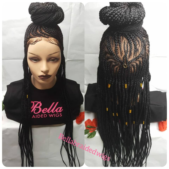 Bella Braided Wigs -  BBW 185 - MTO - Bella Braided Wigs