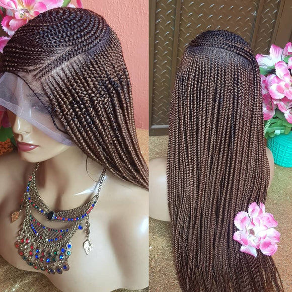Bella Braided Wigs - Abigail 3 - MTO - Bella Braided Wigs