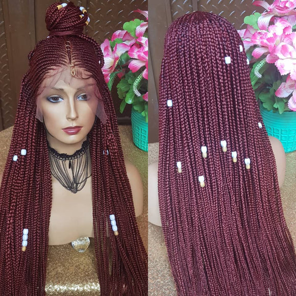 Bella Braided Wigs - Abigail 4- MTO - Bella Braided Wigs