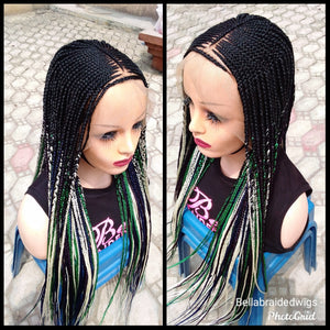 Bella Braided Wigs -  BBW 633 MTO - Bella Braided Wigs