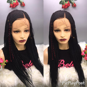 Bella Braided Wigs - BBW 739