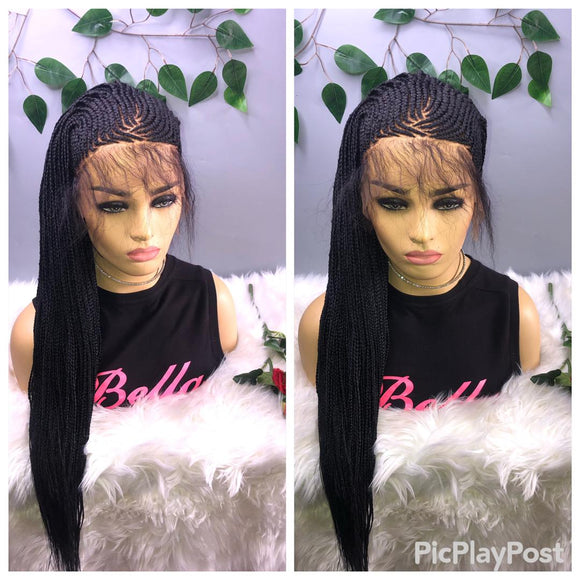 Bella Braided Wigs- Suwa 7