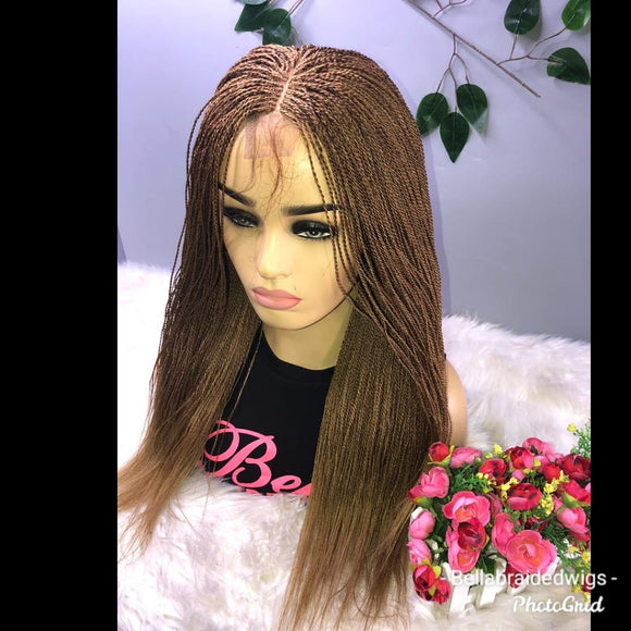 Bella Braided Wigs - BBW 127