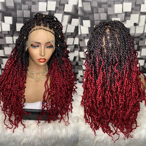 Bella Braided Wigs- ABI 1021