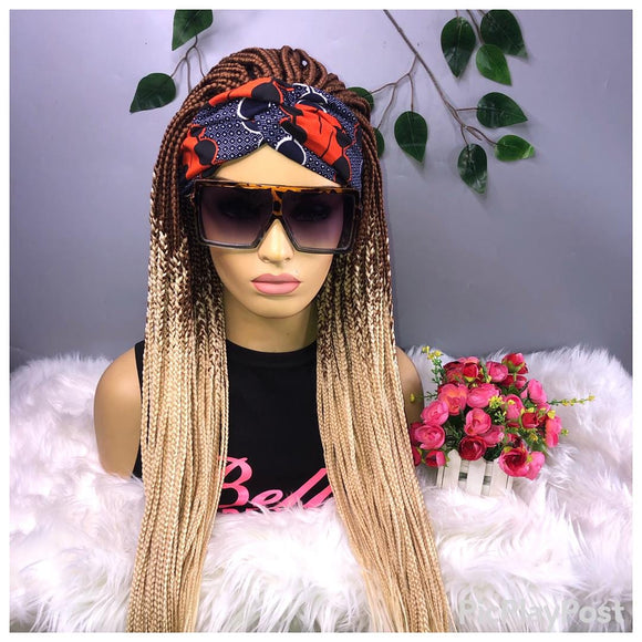 Bella Braided Wigs- Wig Band 39
