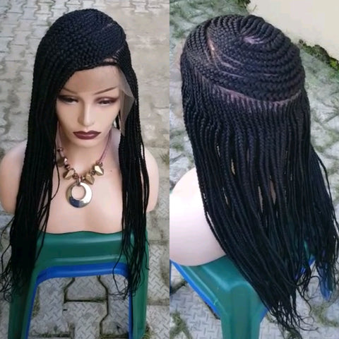 Bella Braided Wigs - Wema - Bella Braided Wigs