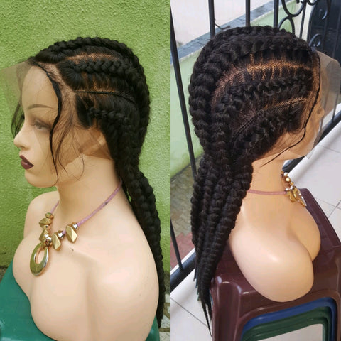 Bella Braided Wigs -  Ramotou - Bella Braided Wigs