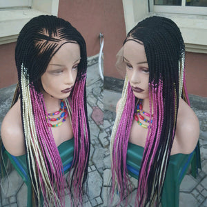 Bella Braided Wigs -  BBW 46 - MTO - Bella Braided Wigs
