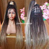 Bella Braided Wigs - Bisi Knotless Braids - Bella Braided Wigs