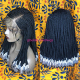 Bella Braided Wigs -  BBW 178 - MTO - Bella Braided Wigs