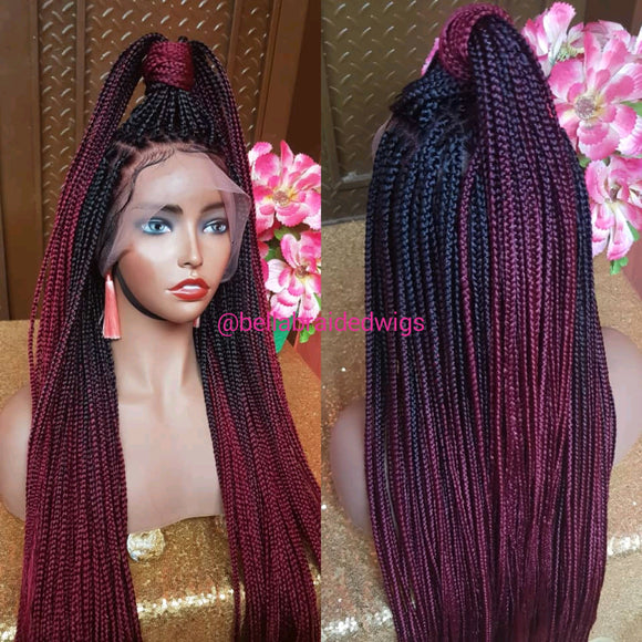 Bella Braided Wigs - Bella Knotless Braids - Bella Braided Wigs