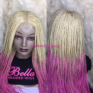 Bella Braided Wigs -  BBW 247
